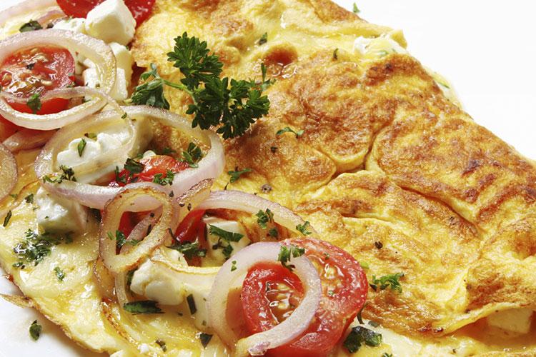 Omelette de Vegetales